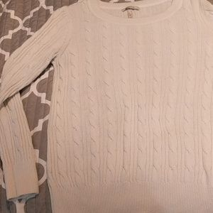 Long sleeve maternity sweater